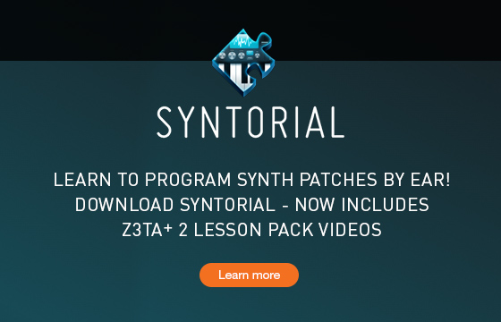 Syntorial Z3TA+ 2