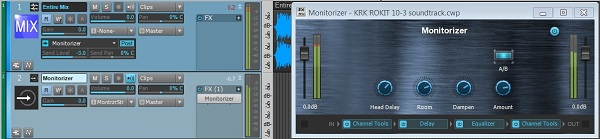 Monitorizer in SONAR