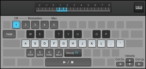 Keyboard Virtual Controller