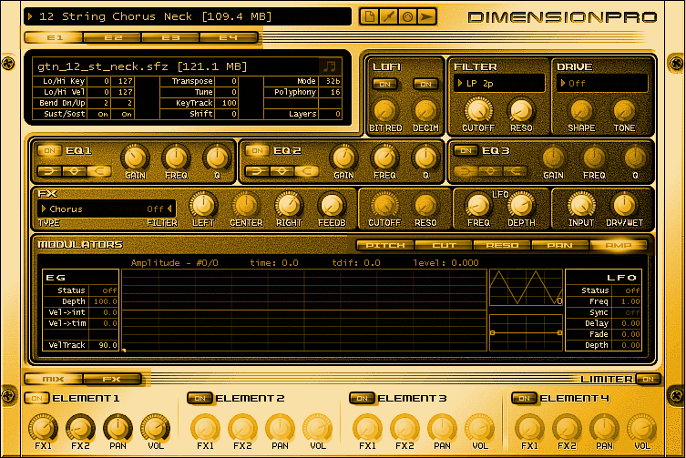 Dimension Pro Gold Top