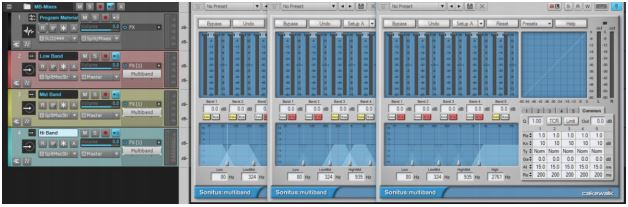 Multiband Processing Track Templates 2