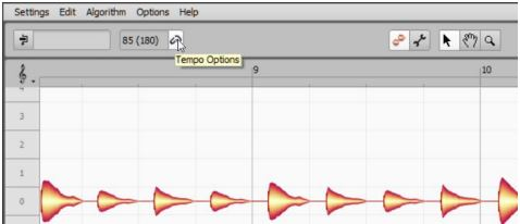Melodyne Tempo Detection 2