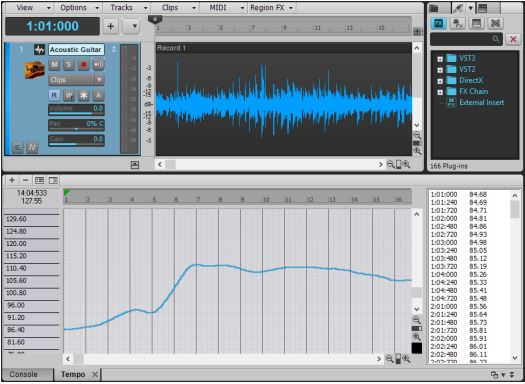 Melodyne Tempo Detection 4