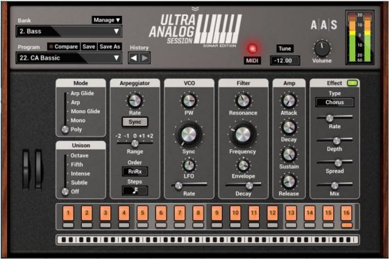 AAS Ultra Analog Session 2 1