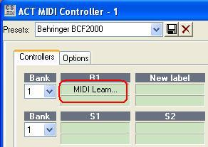 Enable MIDI Learn